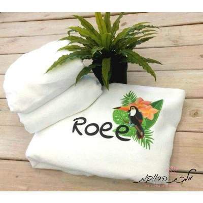 מגבת חוף בעיצוב אישי